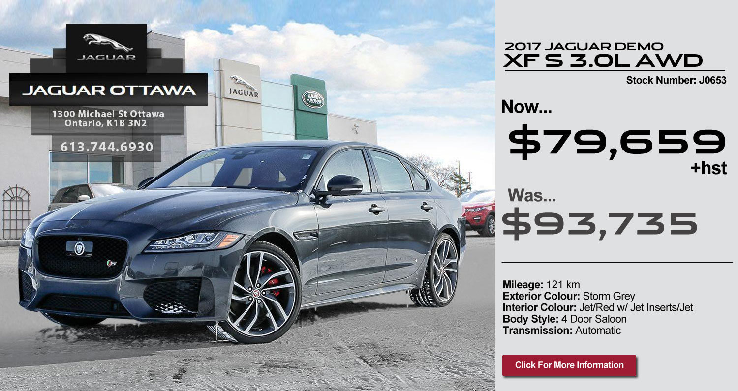 Jaguar Offer XF S